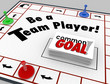 Be a Team Player Board Game Work Toward Common Goal Together