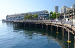 The picturesque waterfront in downtown Seattle