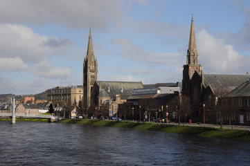 Inverness city view