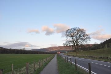 Scotland highland landscape