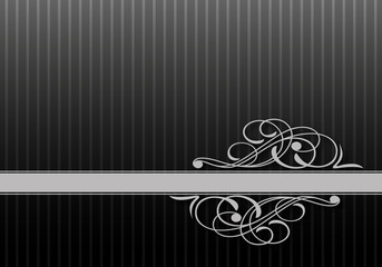 Çizgili arka fon ve estetik motif