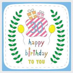 Happy birthday30