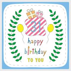 Happy birthday31