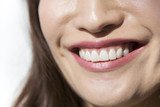 Fototapety Young woman smile mouth