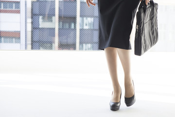 Women who have a business bag