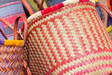 sac cabas vannerie artisanat malgache