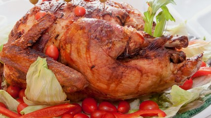 roast turkey for thanksgiving celebration
