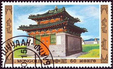 Temple (Mongolia 1986)