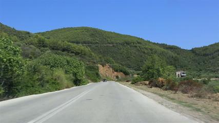 Travel the roads of Sithonia peninsula.