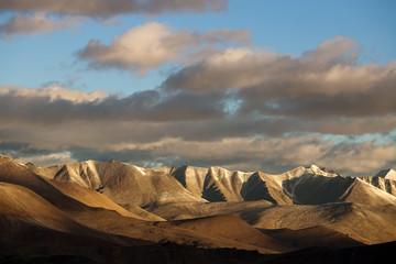 Himalayan landscape in Himalayas along Manali-Leh highway.India