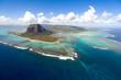 Leinwandbild Motiv Aerial Mauritius
