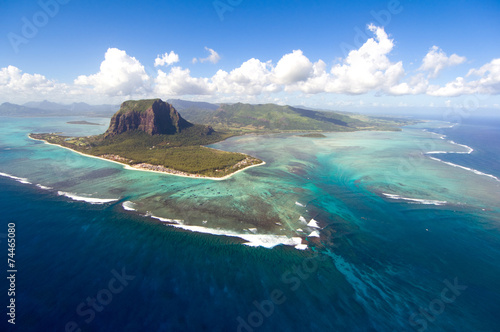 Foto op Canvas Overige Aerial Mauritius