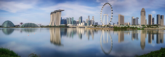 Landscape of the Singapore