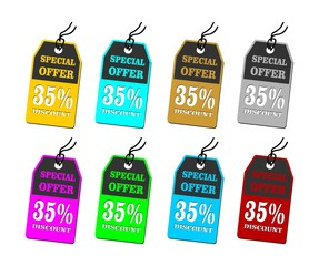 special offer tag price