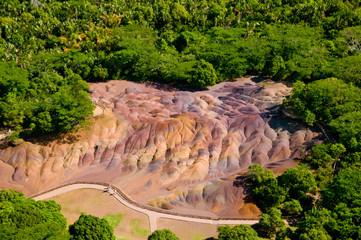 Seven coloured earth Mauritius