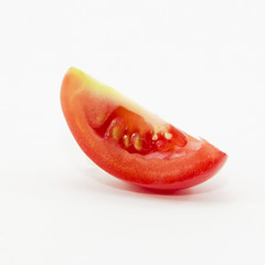 Tomato sliced in small piece