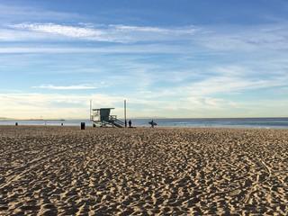 Morning at Venice Beach