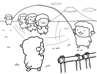 なわとび羊