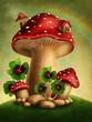 Magic mushrooms - 74469279