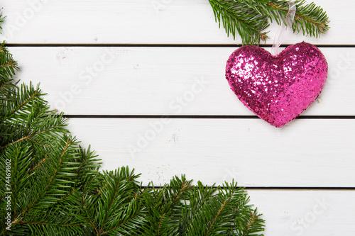 canvas print picture Weihnachten, Fest der Liebe