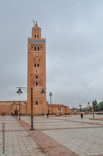 Papiers peints Maroc Moschea della Koutoubia 2