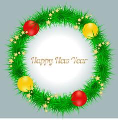 Detailed Christmas Wreath Card