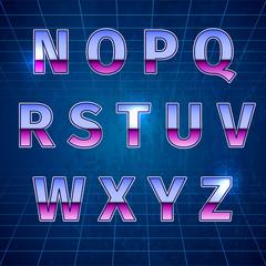 Retro Sci-Fi Font