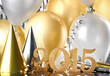 canvas print picture - New Year decoration