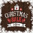 Christmas Sale Poster Design