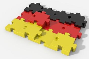 Bandiera Germania puzzle