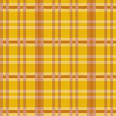 Tuch mit braunen Muster