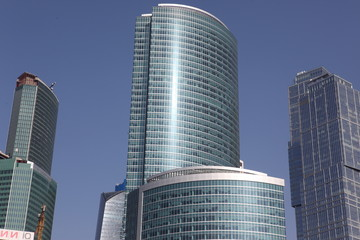 Famous and Beautiful  view Skyscrapers City international busine