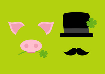 Pig & Chimney Sweeper Green