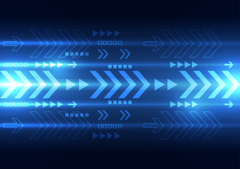 vector digital speed technology, abstract background