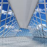 Fototapeta Przestrzenne - Architectural design of modern hall © FreshPaint