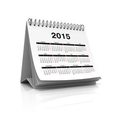 Desktop calendar for 2015 year
