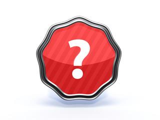 information star icon on white background