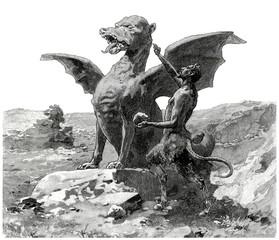 Faun & Dragon