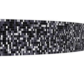 モノクロの壁の背景素材