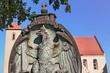 canvas print picture - Rheinsberg Pfarrkirche