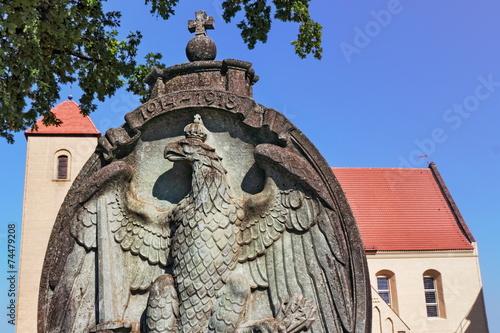 canvas print picture Rheinsberg Pfarrkirche