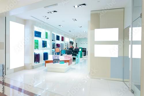 handbag store interior - 74479657