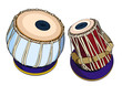 Indian musical instruments - Tabla - 74481068