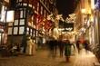canvas print picture - Historische Weihnachtsstadt