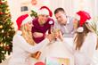 Obrazy na płótnie, fototapety, zdjęcia, fotoobrazy drukowane : Celebrating Christmas or New Year