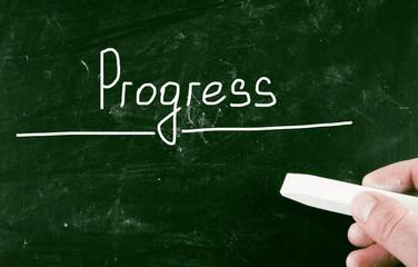 progress concept