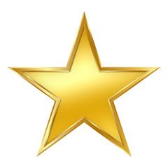 Stern, Goldstern, golden Star, Rand, Rahmen, Gelbgold, Star