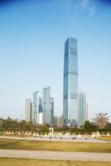 Sky100 skyscraper exterior