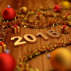 2016 new year decoration