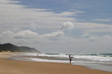costa spiaggia del sudafrica